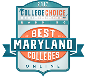 2017 College Choice's List of Best Maryland Colleges Online